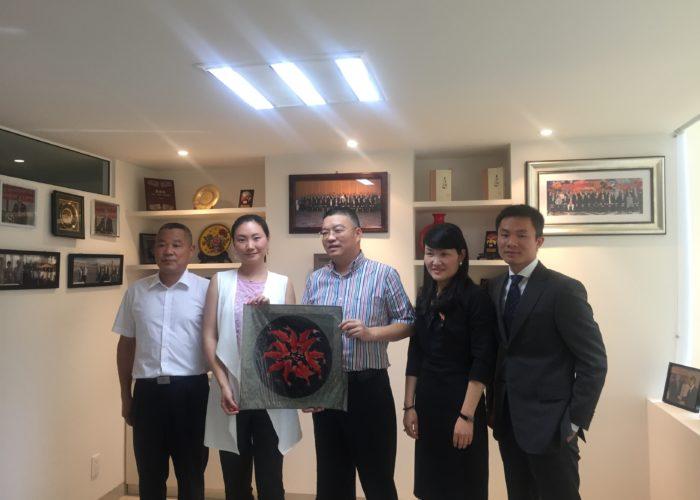 Visita de la Delegación de Wenzhu Communications Investment Group