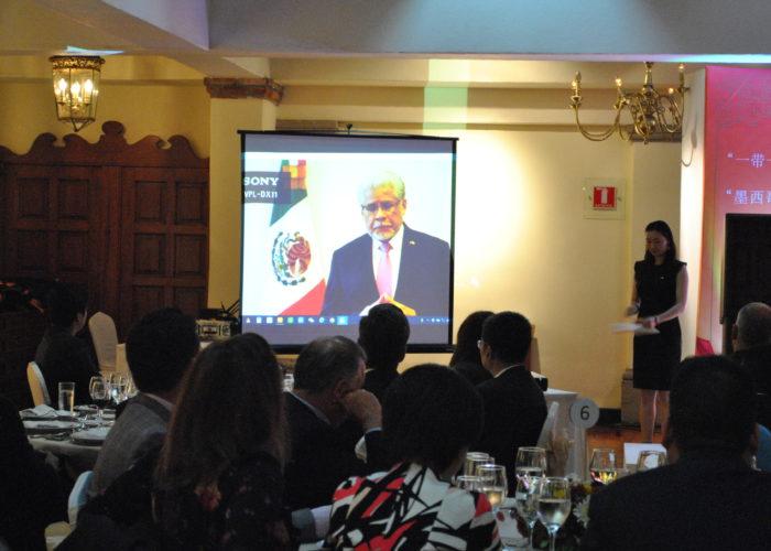Video del embajador de México en China