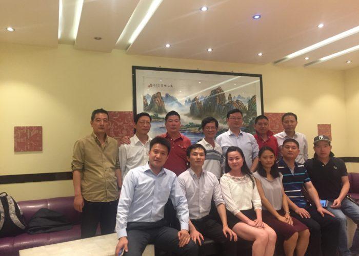 杭州市上城区考察团访问我协会