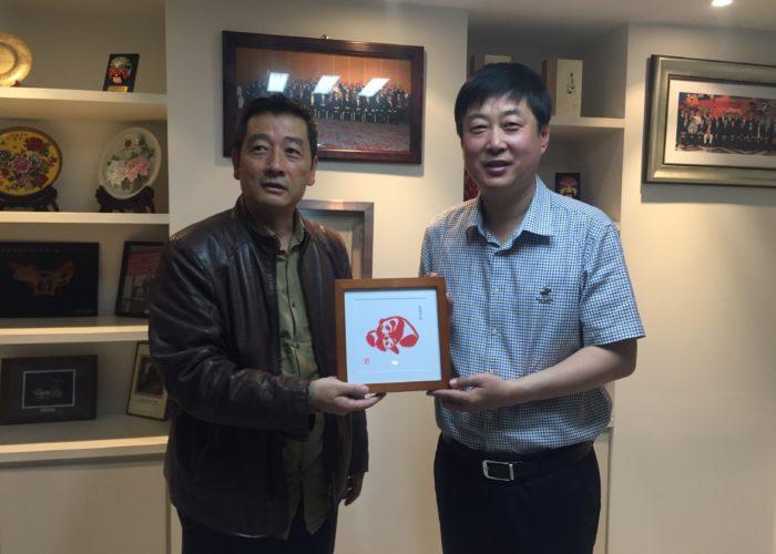 淮阴区副书记访问我协会