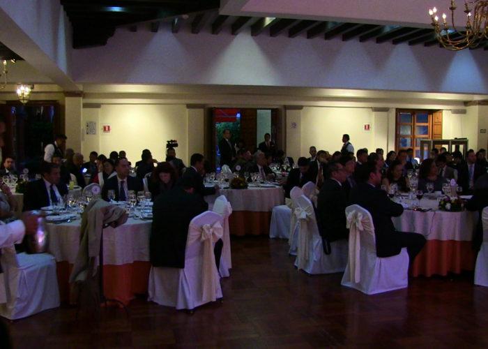 Durante el evento