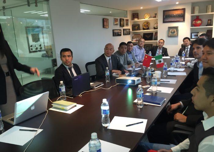 Reunión con Grupo Carso